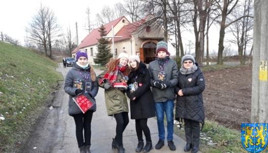 Uczniowie kamienieckiej Dwójki wolontariuszami WOŚP 2019