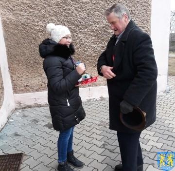Uczniowie kamienieckiej Dwójki wolontariuszami WOŚP 2019__054