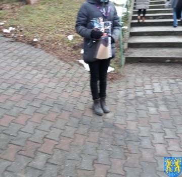 Uczniowie kamienieckiej Dwójki wolontariuszami WOŚP 2019__058