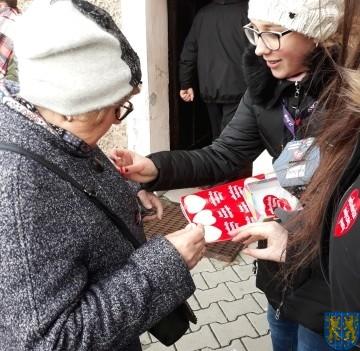 Uczniowie kamienieckiej Dwójki wolontariuszami WOŚP 2019__063