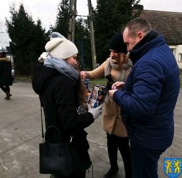 Uczniowie kamienieckiej Dwójki wolontariuszami WOŚP 2019_5