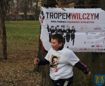 Bieg Tropem Wilczym bieg pamięci o najszlachetniejszych Polakach105
