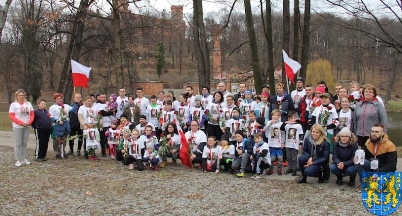 Bieg Tropem Wilczym bieg pamięci o najszlachetniejszych Polakach164
