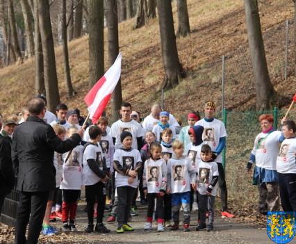 Bieg Tropem Wilczym bieg pamięci o najszlachetniejszych Polakach45