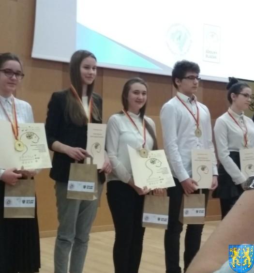 Uczennica z Kamieńca Ząbkowickiego nagrodzona6