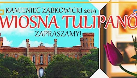 V WIOSNA TULIPANÓW – zaproszenie do Kamieńca Ząbkowickiego