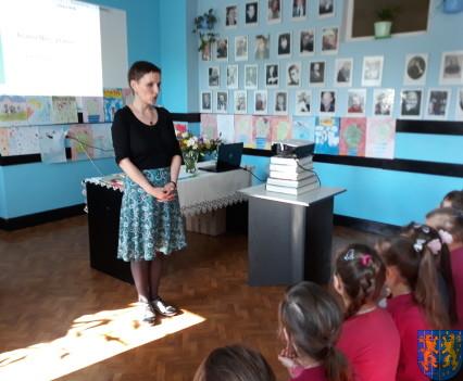 Spotkanie z autorką książek dla dzieci i młodzieży3