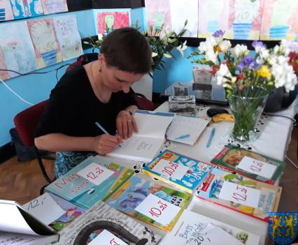 Spotkanie z autorką książek dla dzieci i młodzieży33