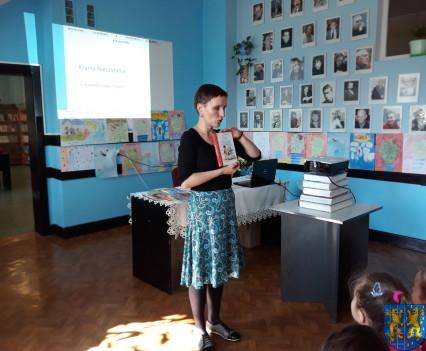 Spotkanie z autorką książek dla dzieci i młodzieży6