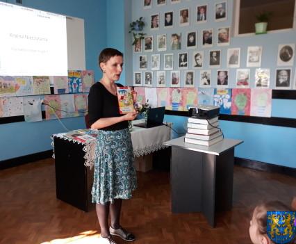 Spotkanie z autorką książek dla dzieci i młodzieży7