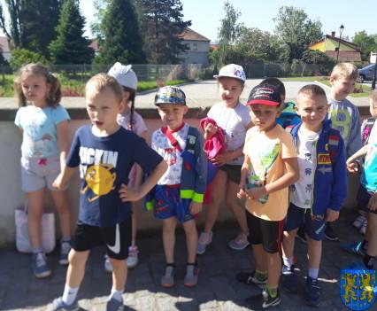 Przedszkolaki pobiegły szlakiem Marianny Orańskiej1