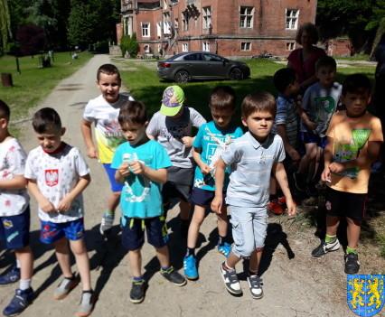 Przedszkolaki pobiegły szlakiem Marianny Orańskiej10