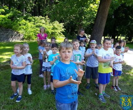 Przedszkolaki pobiegły szlakiem Marianny Orańskiej6