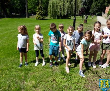 Przedszkolaki pobiegły szlakiem Marianny Orańskiej8