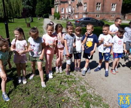Przedszkolaki pobiegły szlakiem Marianny Orańskiej9