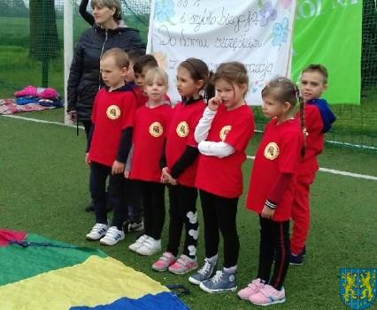 VIII Przedszkolna Olimpiada Sportowa w Mąkolnie1