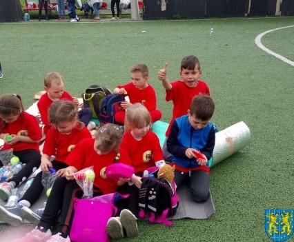VIII Przedszkolna Olimpiada Sportowa w Mąkolnie5