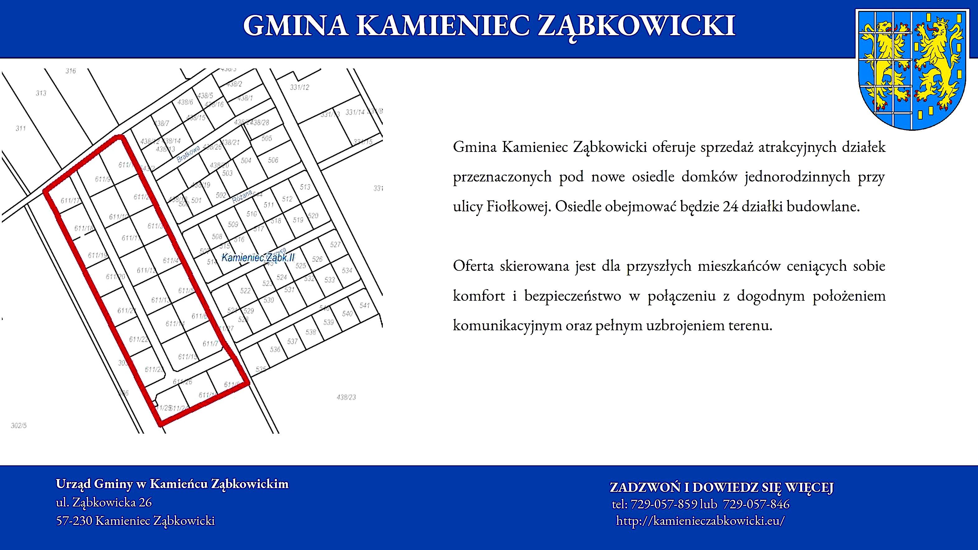 Postępowania dotyczące nieruchomości Gminy Kamieniec Ząbkowicki_2019_09_09