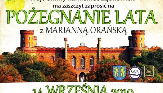 Pożegnaj lato z Księżną Marianną – z Marianną Orańską – w Kamieńcu Ząbkowickim