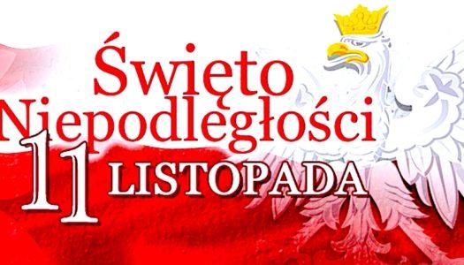 Narodowe Święto Niepodległości – w Gminie Kamieniec Ząbkowicki