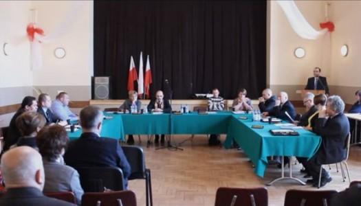 Rada Gminy – sprawozdanie z 7 sesji