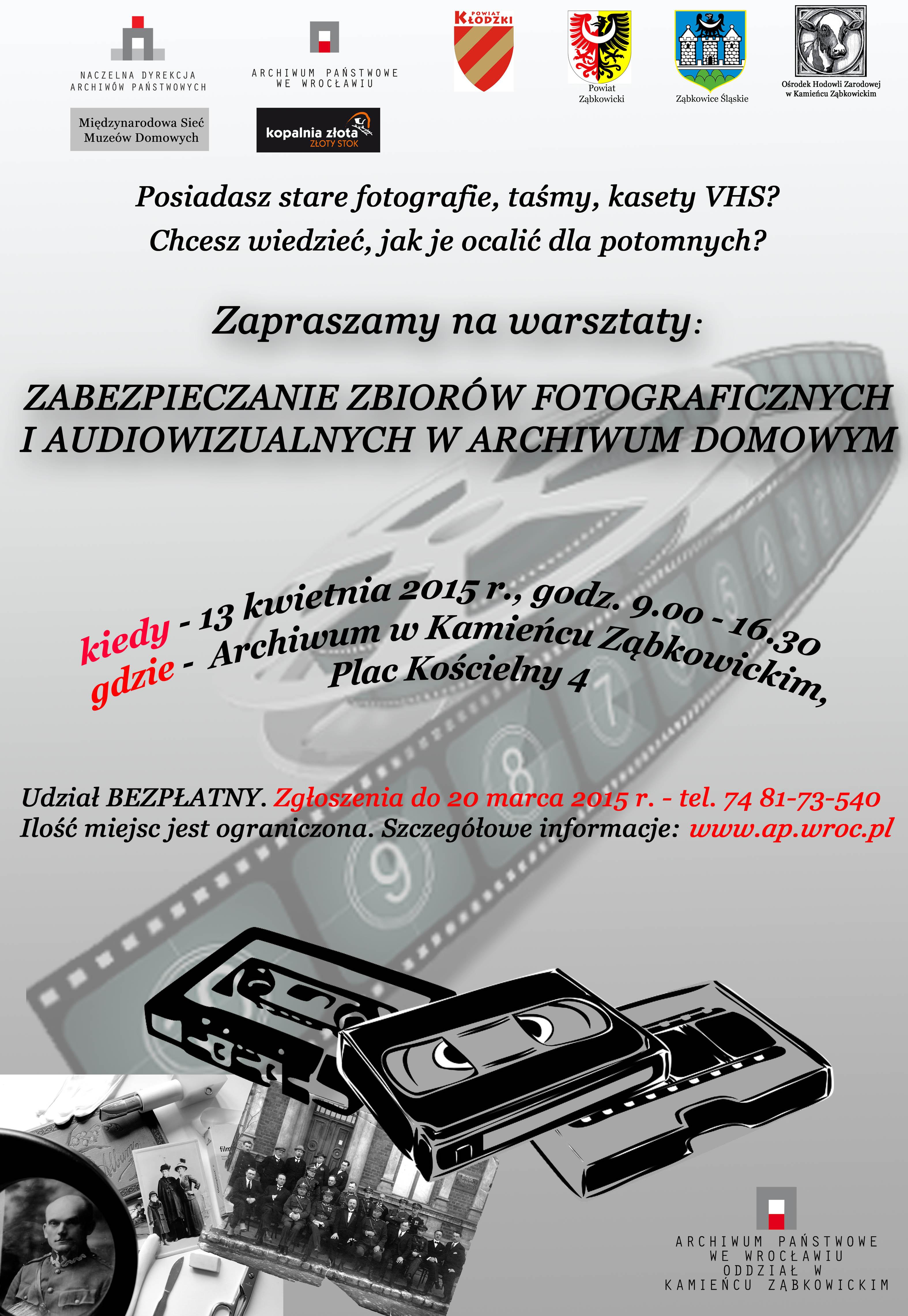 Zaproszenie na warsztaty archiwalne w Kamieńcu Ząbkowickim_01