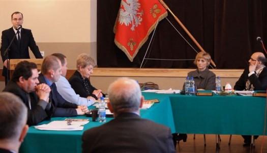 Rada Gminy – sprawozdanie z 8 sesji