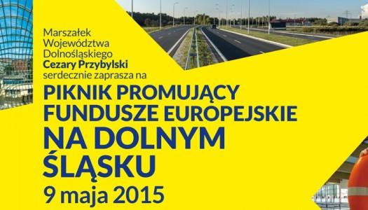 Piknik z funduszami unijnymi dla Dolnego Śląska
