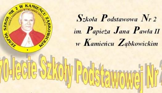 70-lecie Szkoły Podstawowej nr 2 – już jutro!