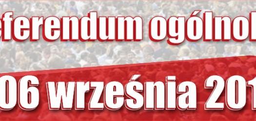Zbliża się referendum ogólnokrajowe