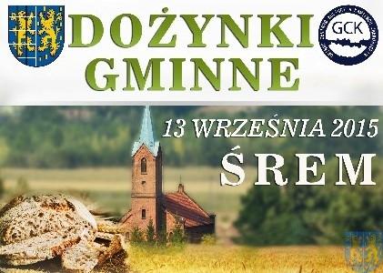 Zaproszenie na Dożynki Gminy Kamieniec Ząbkowicki