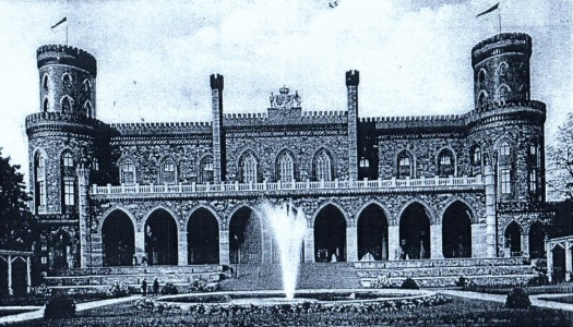 Odnowienie fontanny pałacowej – przetarg