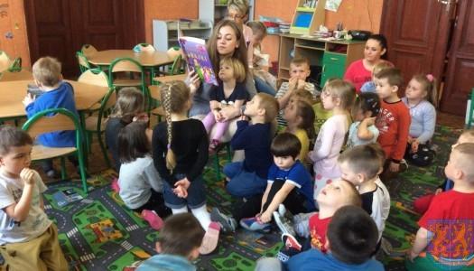Przedszkolaki obchodziły Międzynarodowy Dzień Książki