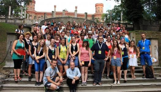 Młodzi Czesi odwiedzili Pałac Marianny