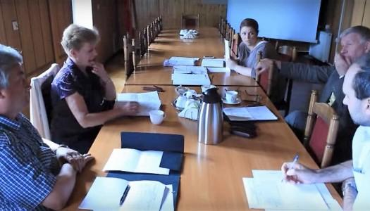 Temat posiedzenia: świetlice wiejskie [VIDEO]