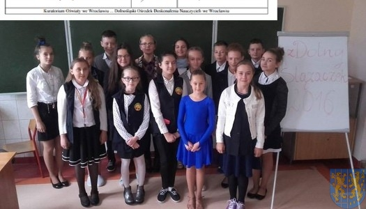XIV Konkurs Interdyscyplinarny zDolny Ślązaczek – etap szkolny