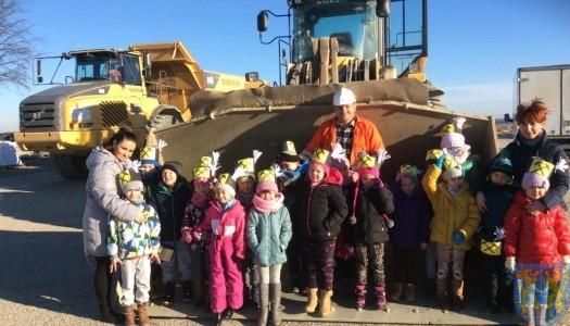 Starszaki u górników