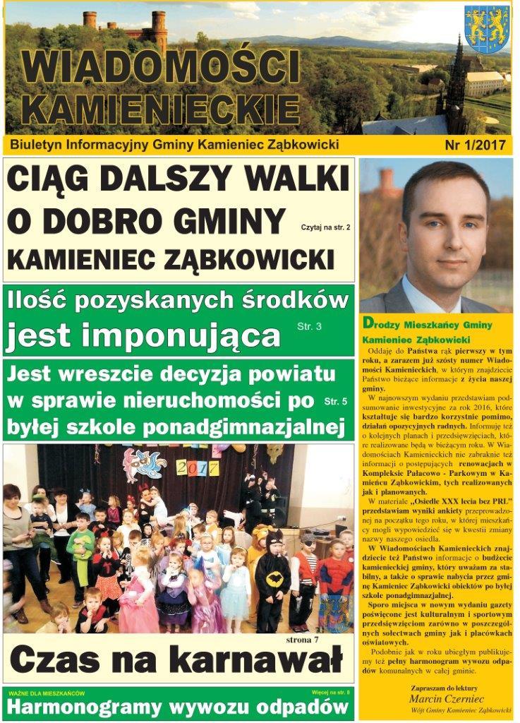 Wiadomości Kamienieckie 1_2017m (1)