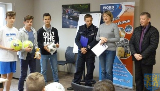 Gimnazjaliści pojadą na dolnośląski turniej bezpieczeństwa ruchu drogowego