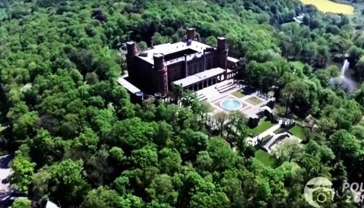 Pałac widziany z drona