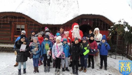 Z wizytą w wiosce Świętego Mikołaja