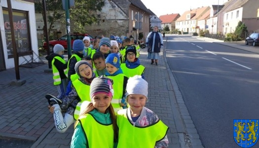 Przedszkolaki z wizytowały Punkt Selektywnej Zbiórki Odpadów Komunalnych
