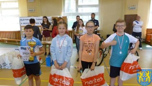 Finał Powiatowy Turnieju Bezpieczeństwa Ruchu Drogowego szkół podstawowych rozegrany