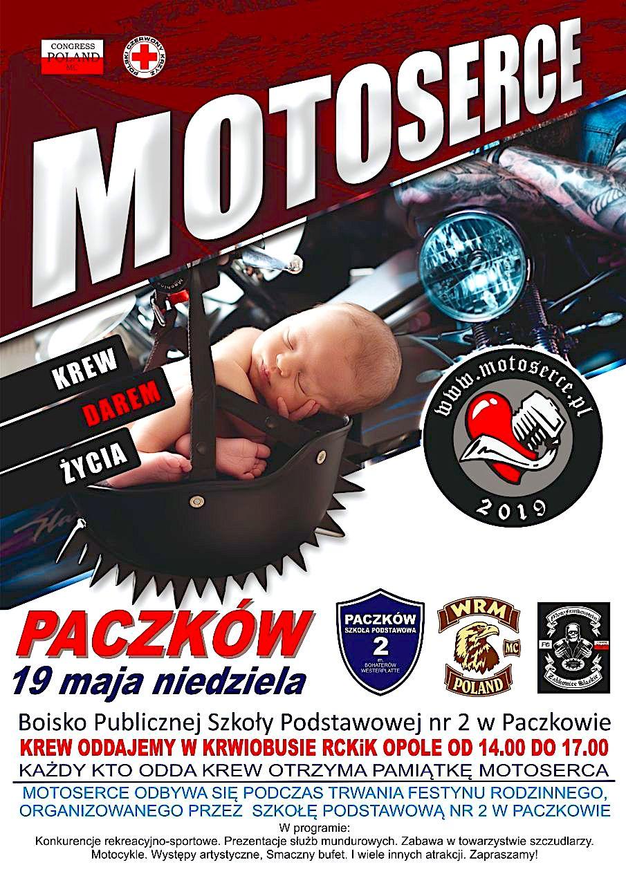 Zaproszenie na MOTOSERCE do Paczkowa2