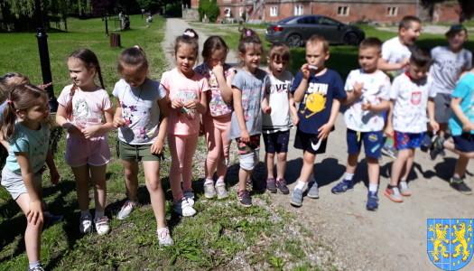 Przedszkolaki pobiegły szlakiem Marianny Orańskiej