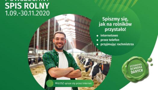 Spis rolny 2020 – zostań rachmistrzem spisowym