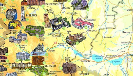 Atrakcje Dolnego Śląska – wśród nich Pałac Marianny Orańskiej w Kamieńcu Ząbkowickim