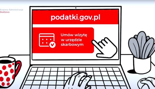 Wizytę w urzędzie skarbowym można umówić przez internet