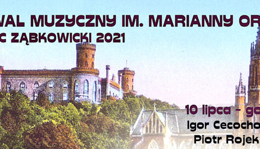 I Festiwal Muzyczny im. Marianny Orańskiej – zaproszenie