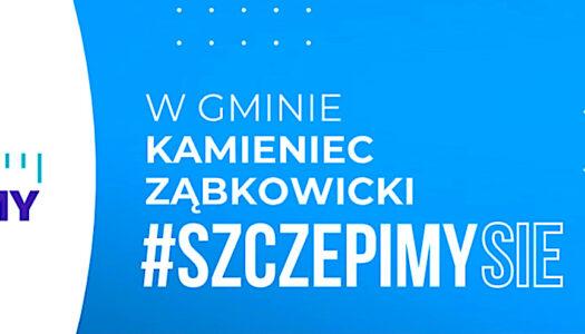 Gmina Kamieniec Ząbkowicki bierze udział w akcji #SzczepimySię [VIDEO]